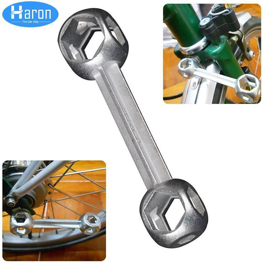 10 Holes Hexagon Torque Wrench Spanner Bike Bicycle Repair Tools
