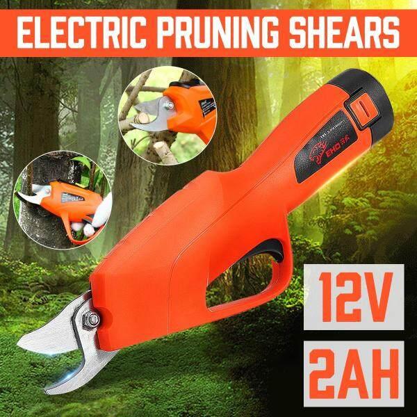 Electric Gardening Tree Pruner High Speed Grape Pruning Shears 2x Li-ion batteries
