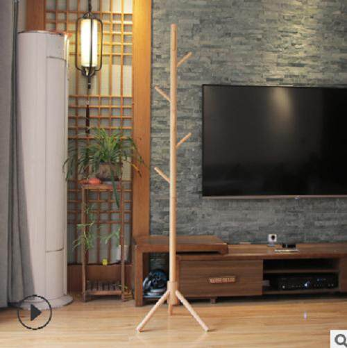 Deluxe Wooden Coat Rack Tree – Hat, Jacket And Sweater Hanging Stand – Easy Assembly – Elegant Design For Home Or Office Hall And Entrywa By Weicl.