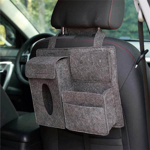 Star Mall Car Styling Storage Bag Car Organizer Tissue Box Pouch Back Seat Storage Bag Specification:car Storage Bag Dark Gray By Star Mall.