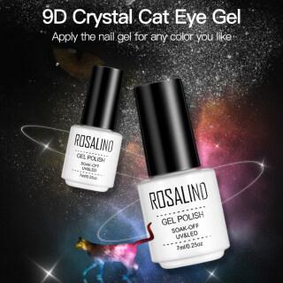 Zhixin ROSALIND 7Ml 9D Crystal Cat Eye Magnetic UV Gel Nailss Polish Rendam Off Lacquer thumbnail