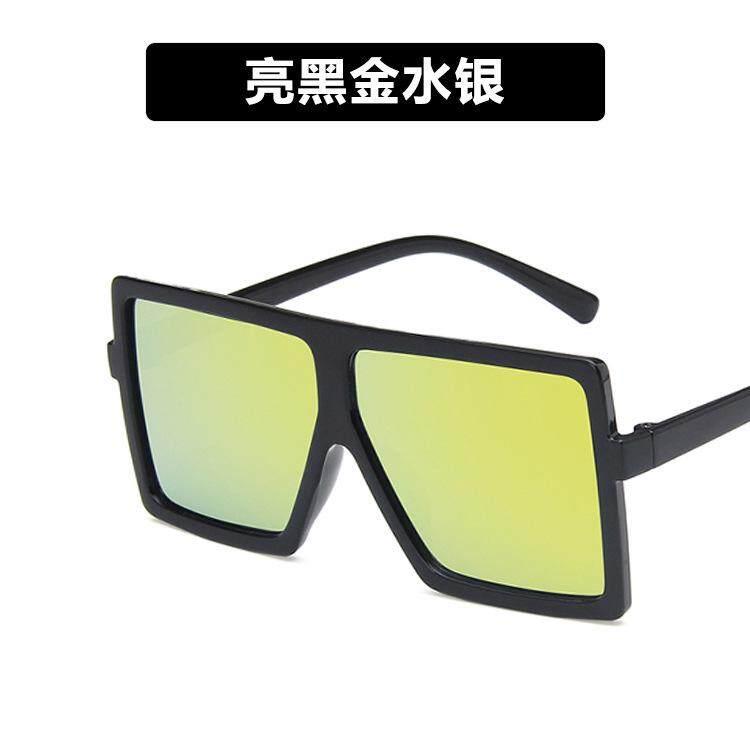 2019 แฟชั่นกรอบใหญ่แว่นตากันแดดแจ๊คเก็ตทารกเด็กชายเด็กหญิงแนวโน้มบุคลิกภาพแว่นตาเด็กแว่นตากันแดด Uv400 น้ำหนักเบา Clear Vision 9007 By Digitchocolate.