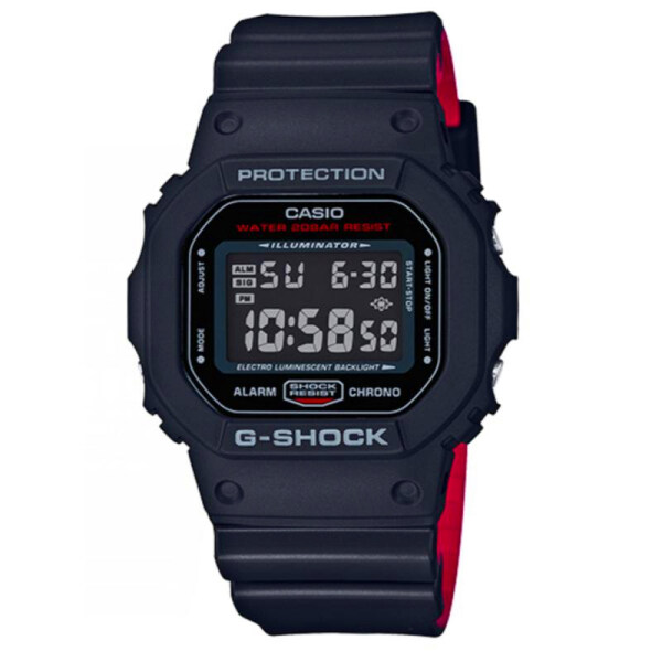 (Ready stock) Original G Shock Black x Red Heritage Color Series Black and Red Resin Band Watch DW5600HR-1D DW-5600HR-1D DW-5600HR-1 (watch for man / jam tangan lelaki / watch for men / watch / men watch / watch for men) Malaysia