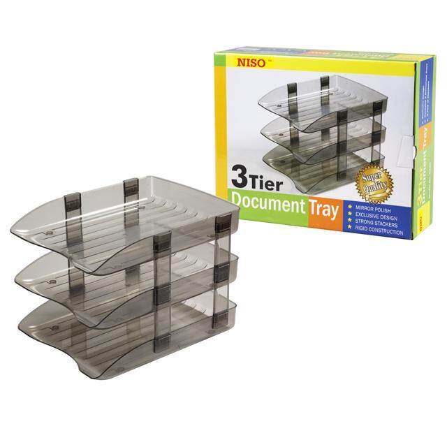 Niso 3 Tier Document Tray By Akar Files.