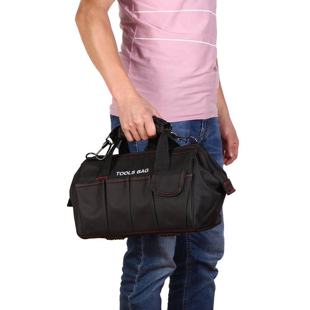 [HOSPORT] 12 inch 600D Oxford Cloth Waterproof Tool Bag Shoulder Toolkit Hand Bag