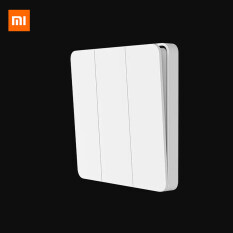 Xiaomi Mijia Công tắc tường đơn Điều khiển kép 2 chế độ, Chuyển qua ánh sáng đèn cho nhà thông minh – INTL