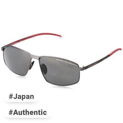 de73e15fd4ab Porsche Design Glasses P8652 Men s gray polarized Japan 60 Free size