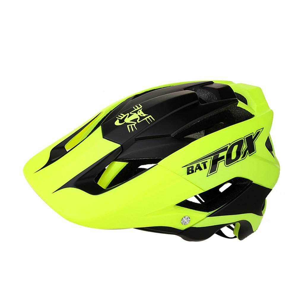 BATFOX Bicycle Helmet Mountain Bike One-Piece Riding Helmet-F-659