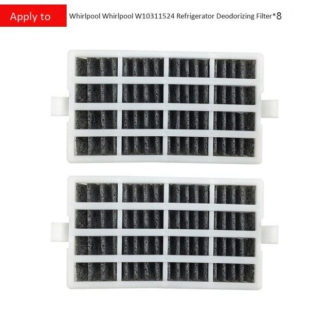 Bộ Lọc Thay Thế Tủ Lạnh 8 Gói, Bộ Lọc Không Khí Cho Whirlpool W10311524