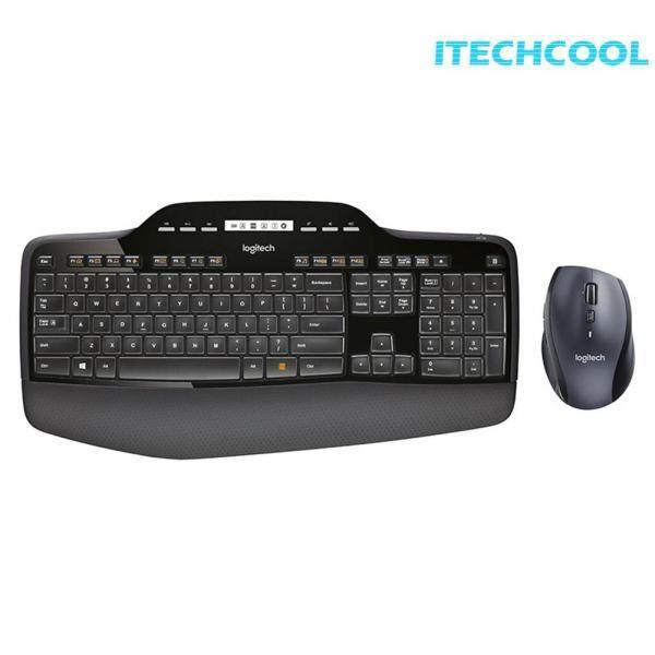 MK710 Keyboard Mouse Combs Set Ergonomic Optical Mice 2.4GHz Wireless for Logitech Computer Singapore