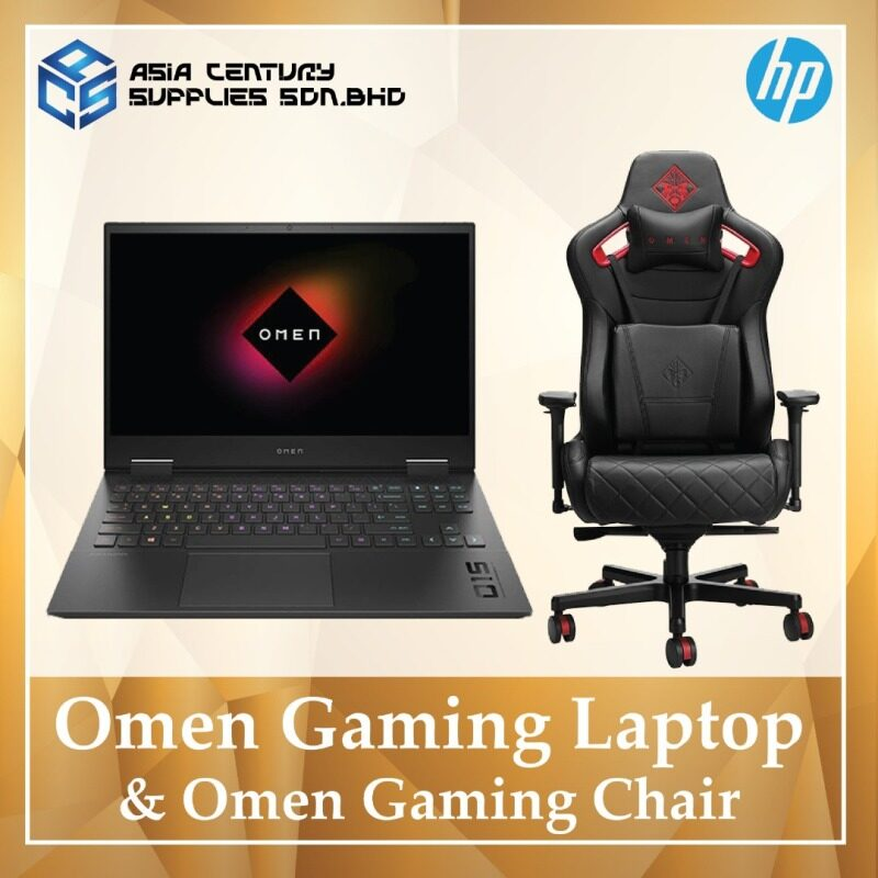 [Pre-Order] Omen Gaming Laptop & Omen Gaming Chair Malaysia