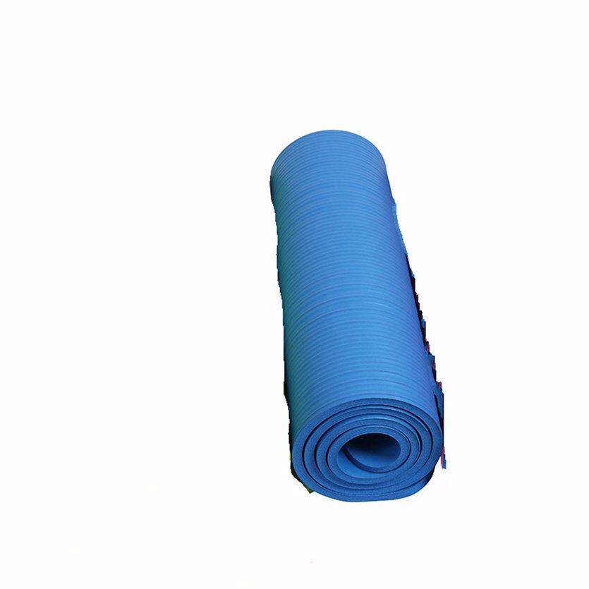 ea0915fc05df OH Thicken Foam Yoga Mat 10mm Thick Gymnastics Exercise Pad For Body  Building