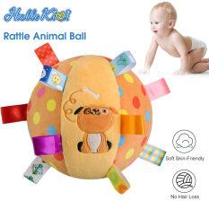 Thú nhồi bông HelloKimi dạng trái bóng in hình động vật dành cho trẻ em/ trẻ sơ sinh (kích thước 15cm) – INTL