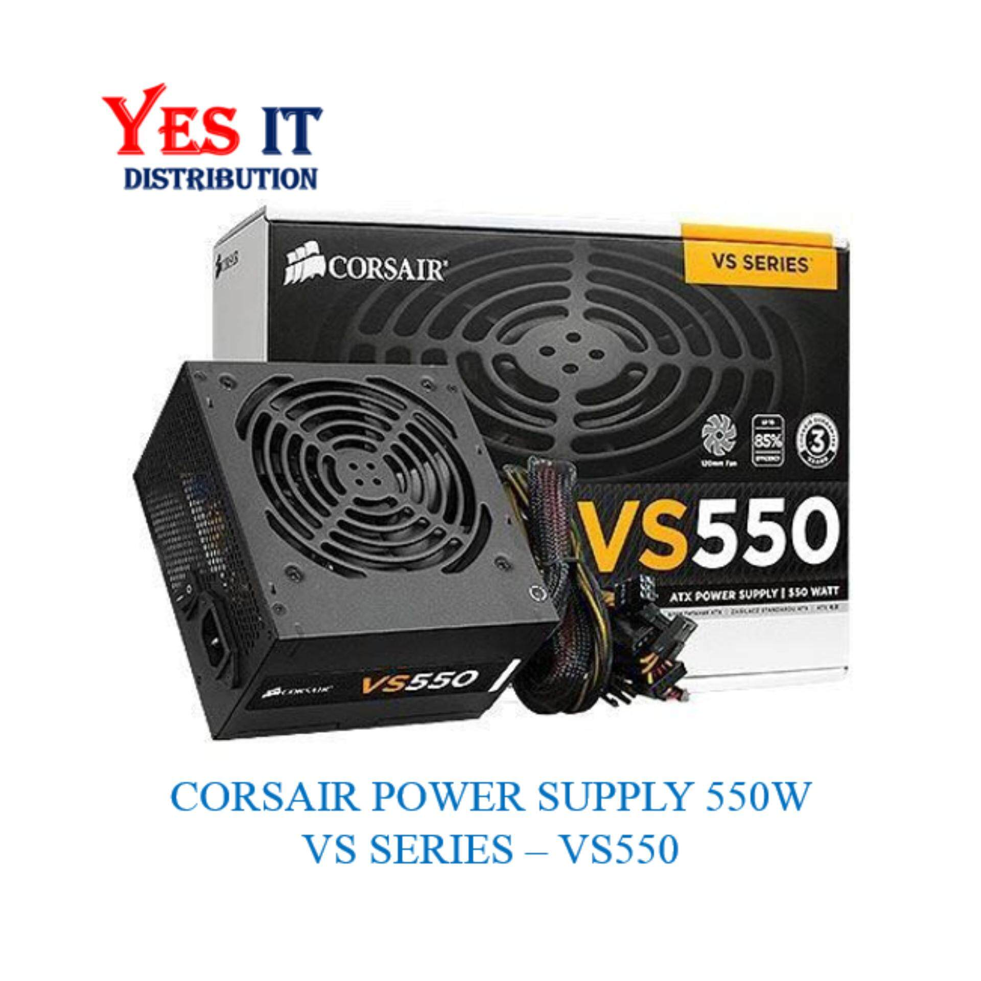 Power Supply Units With Best Online Price In Malaysia Mini Variable Corsair Vs Series Vs550 550 Watt