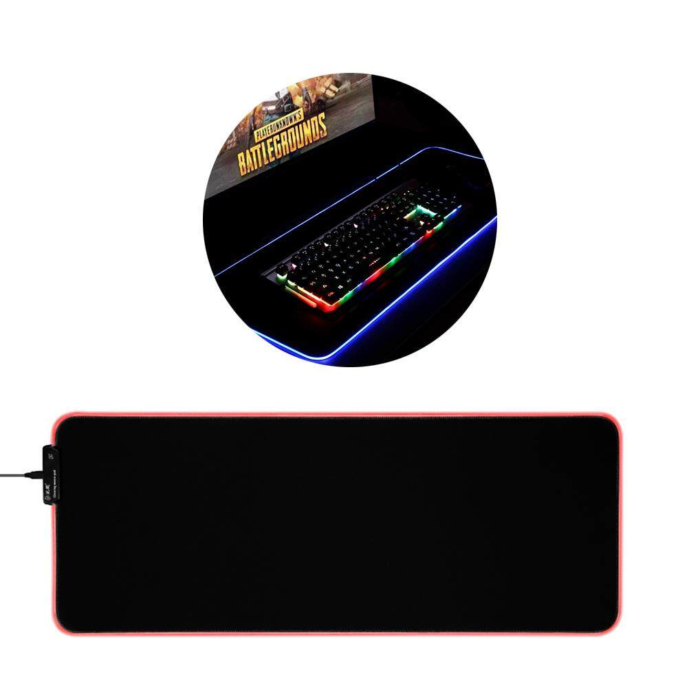 Gaming Mouse Pad RGB LED Glowing Mouse Mat for PC Laptop Desktop Computer Size L Malaysia