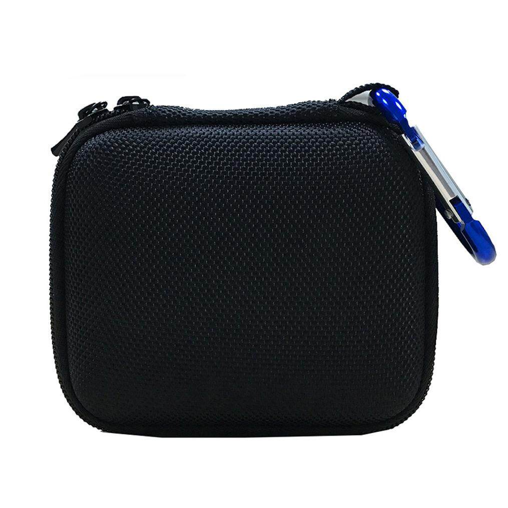 Hard Eva Carry Bag Case Cover For Jbl Go 1/2 Bluetooth Speaker, Mesh Pocket For Charger And Cables By Ralleya.