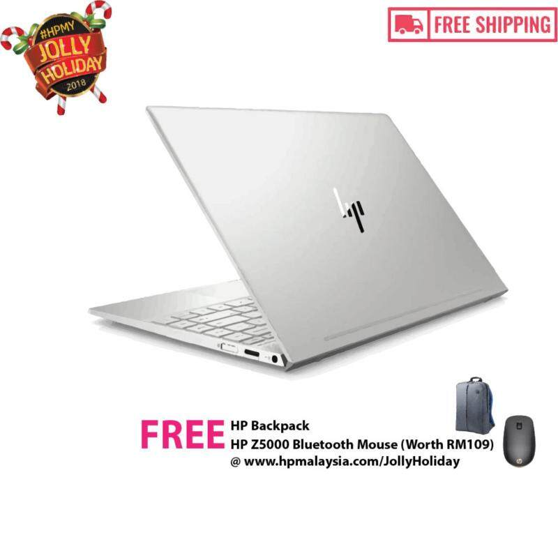 HP ENVY 13-ah1027TX 13.3 FHD IPS Laptop Silver [Free Shipping + Backpack [REDEEM FREE: ONE UNIT OF HP Z5000 BLUETOOTH MOUSE WORTH RM109][Jolly Holiday : 15 Nov - 31 Jan 2019] Malaysia