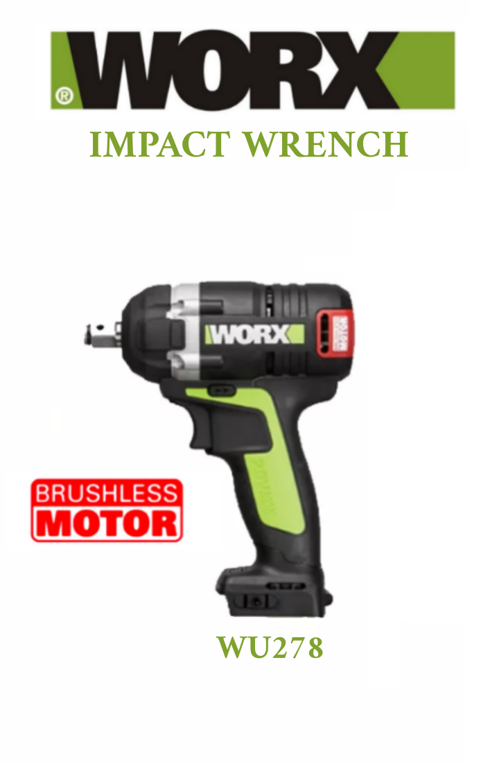 Cordless Impact Wrench Solo