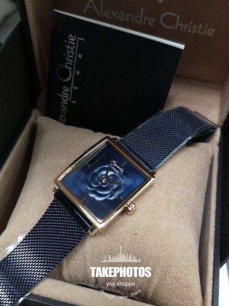 100% original Alexandre Christie 2848 women bracelet fashion watch#all stainless steel# Malaysia