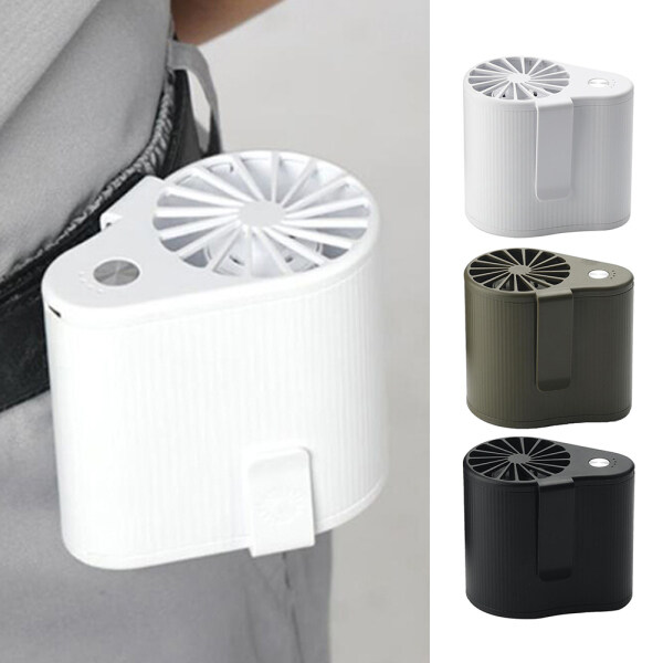 Mini Điều Hòa Không Khí Làm Mát Quạt Eo Có Thể Sạc Qua USB Máy Thổi Khí Cầm Tay