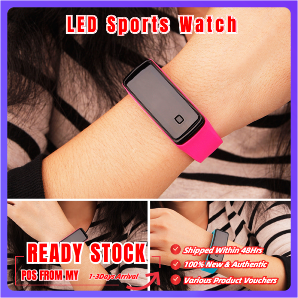 【BIG SALE】LED Sports Watch Couples Watch Childrens Bracelet & Watch Waterproof Ultra-Long Standby Malaysia