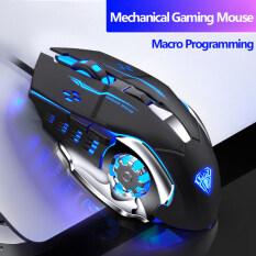Chuột Chơi Game AULA S20 Ngầu Phát Sáng Chuột Quang Máy Tính Chơi Game Lập Trình Tản Nhiệt USB Cho PC Laptop Máy Tính Xách Tay