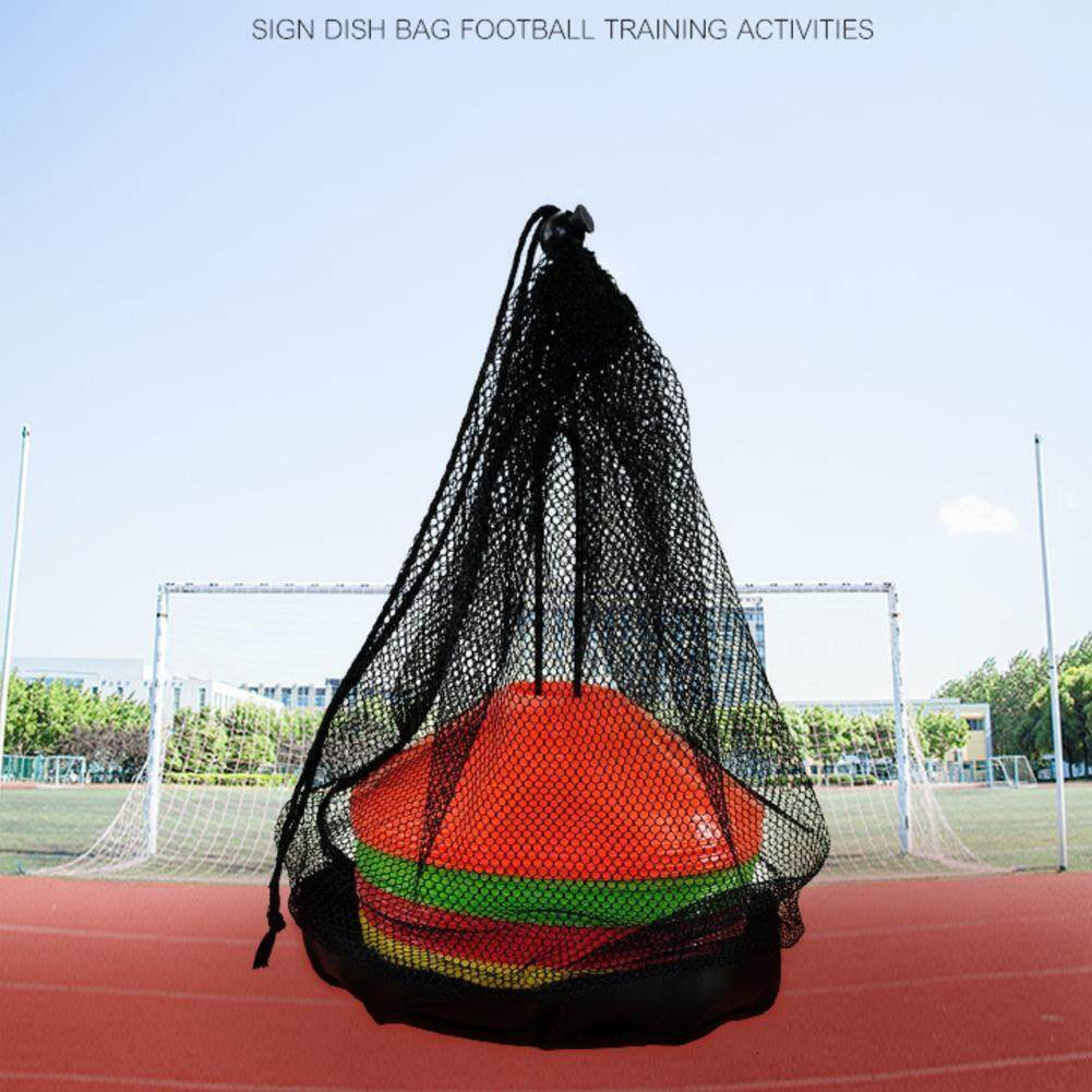 1pcs logo dish net bag net bag tote bag football net bag basketball volleyball ball pocket net bag single football bag