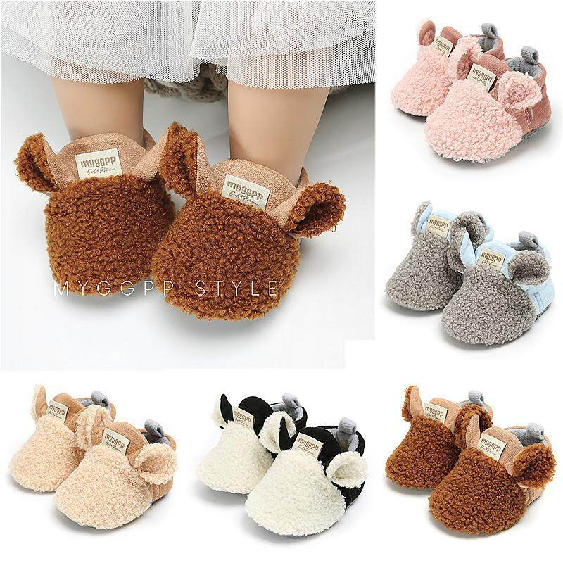 Toddler Newborn Baby Crawling Shoes Boy Girl Lamb Slippers Prewalker  Trainers 19219119c
