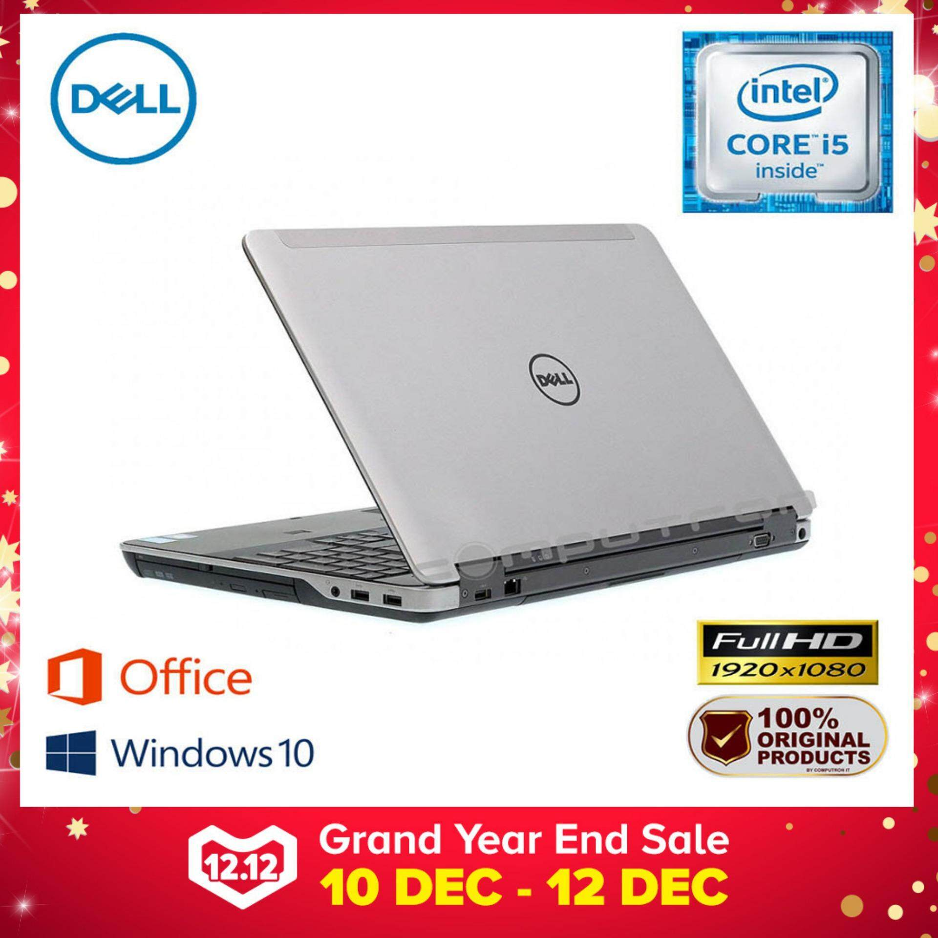 DELL LATITUDE E6540 15.6-INCH [FULL HD] CORE I5/ 4GB RAM/ 500GB [ 2 YEAR WARRANTY ] Malaysia
