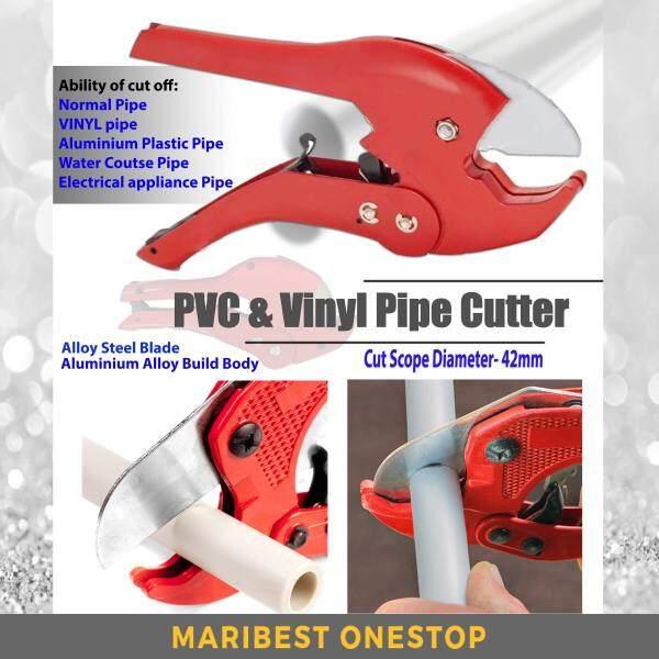 42MM Aluminium Vinyl PVC Pipe Cutter Heavy Duty Steel Blade Snips Cutting Quality Assured Hand Tools