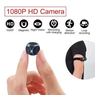 Camera S-py Camera Ẩn Mini, Camera Mini Cảm Biến Tầm Nhìn Ban Đêm, Máy Quay Phim HD 1080P Máy Ảnh Giám Sát Camera Nhỏ Bí Mật thumbnail