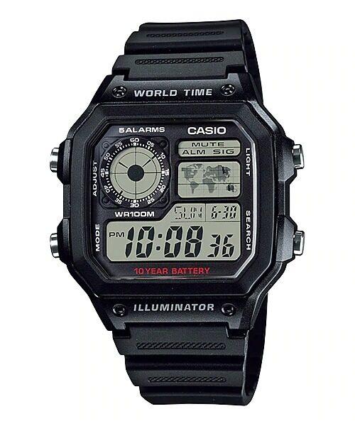 Casio AE-1200WH-1BVDF / AE-1200WH-1AVDF Genuine Watch Malaysia