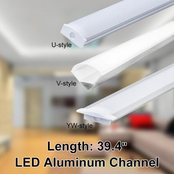 Bảng giá 30/45/50Cm U/V/YW Vỏ Nhôm Dải Đèn LED Thanh Đèn Nẹp Giữ Bìa Dưới Đèn Gắn Tủ Nhà Bếp 1.8Cm Rộng