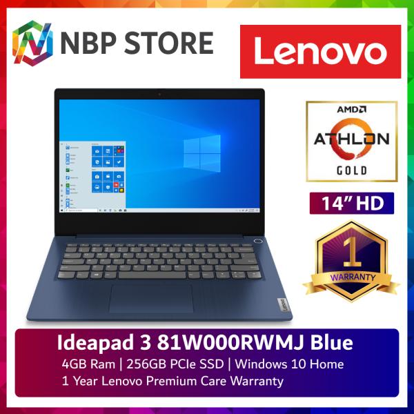 Lenovo Ideapad 3-14ADA 81W000RWMJ 14 Laptop Abyss Blue ( Athlon 3150U, 4GB, 256GB SSD, ATI, W10 ) Malaysia