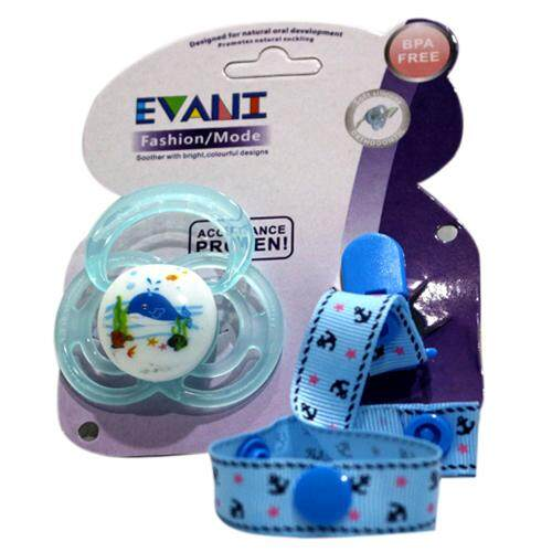 READY STOCK HIGH EVANI HIGH QUALITY CLOSER TO NATURE BABY SOOTHER /PACIFIER WITH Clip Chain Toys Straps Hanging Tie Holder Fastening Belt