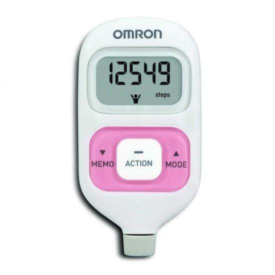 (original) Omron Hj-203 Pedometer (warranty 1 Year) Pink By My Medic Store.