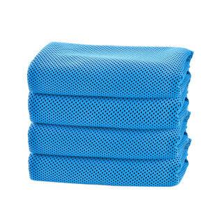 4 Pack Cooling Towel Soft Breathable Ice Towel Absorbent Fast Drying Towels for Yoga Sport Workout Fitness thumbnail