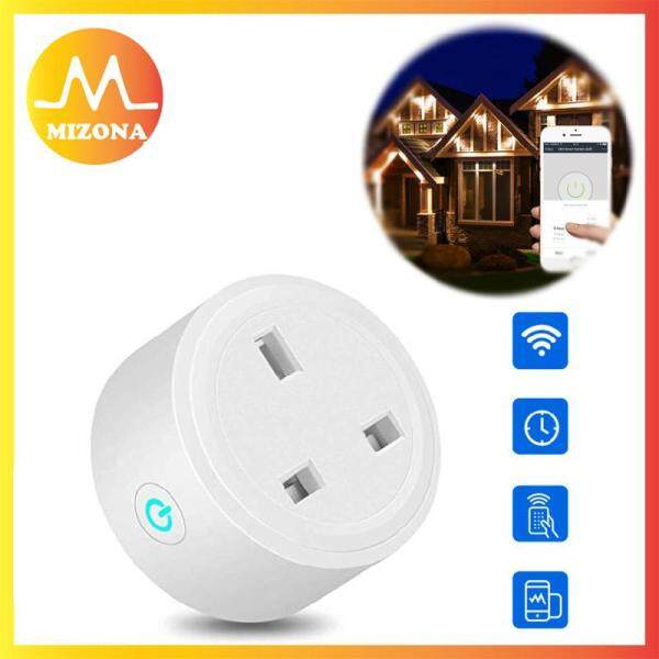 MIZONA WiFi Wireless Remote Control Smart Home Power Socket APP Remote Socket Outlet Switch UK Plug