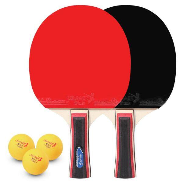 Bảng giá Table Tennis 2 Player Set 2 Table Tennis Bats Rackets with 3 Ping Pong Balls for Students Beginners