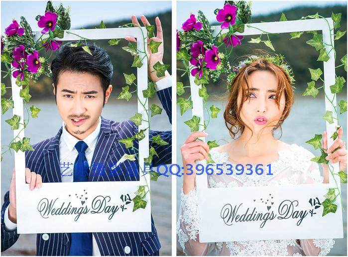 New Style Studio Wedding Dress Snnei Exterior Theme Props Take Photography Creative Frame Generous Frame Trip Exterior Real
