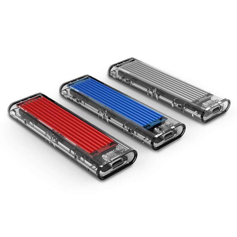 Giá ORICO M2 SSD Ốp Lưng M.2 USB NVMe SSD Vỏ Trong Suốt Cứng Đĩa Cho M2 NVMe SSD Vỏ Loại C 3.1 M Phím M.2 SSD Ốp Lưng
