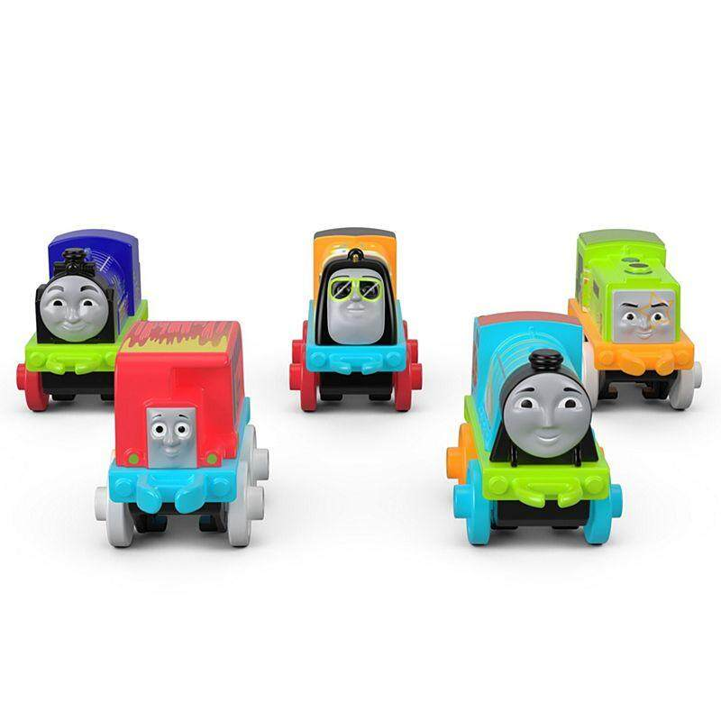 Thomas Friends Minis Glow In The Dark Collectible Toy Train Combo A Fvj69