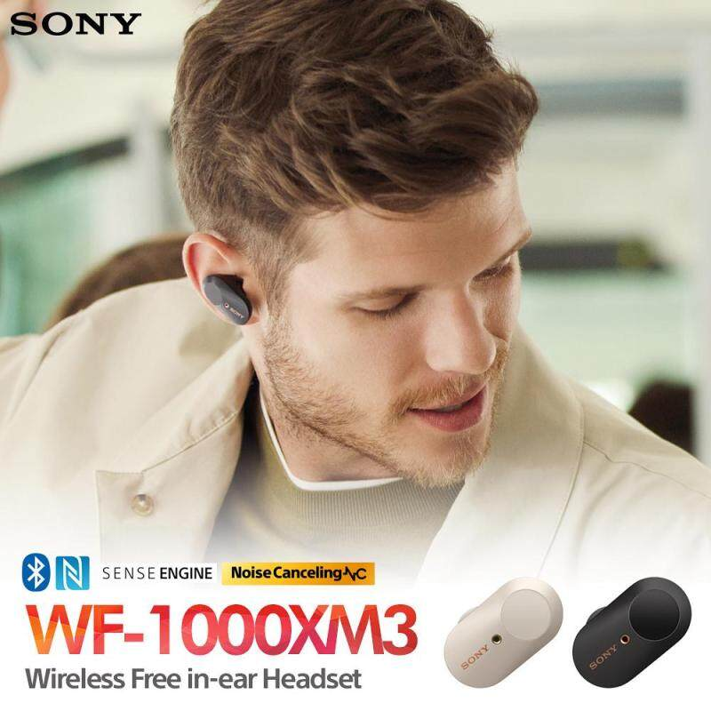 SONY WF-1000XM3 Wireless Earbud Earphone Noise Cancelling Headphones Headphone Singapore