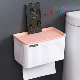 1 Hộp Khăn Giấy Phòng Tắm Mới Chống Thấm Nước Giá Đựng Giấy Vệ Sinh Bồn Tắm Bằng Nhựa Hộp Đựng Giấy Treo Tường Hộp Đựng Khăn Ăn Hai Lớp thumbnail