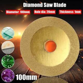 Lưỡi Cưa Kim Cương Đường Kính 100Mm Nhỏ Lỗ 20Mm Bánh Xe Cắt Đĩa, Cho Máy Mài Góc Kính Cắt Gốm Đá Granite thumbnail
