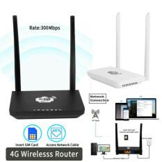Bộ Định Tuyến Không Dây 4G LTE Di Động Wifi 300Mbps Hotspot Khe Cắm Thẻ SIM N0Q0