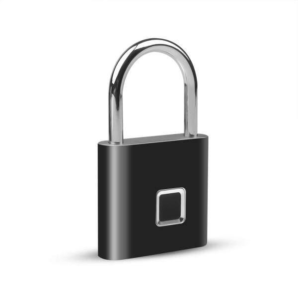 Khóa Vân Tay Thông Minh Di Động Khóa Cửa Sinh Trắc Học Chạy Điện Ổ Khóa USB Chống Nước IP65 Có Thể Sạc Lại Túi Cửa Nhà Vali Hành Lý Khóa Không Chìa An Ninh Chống Trộm