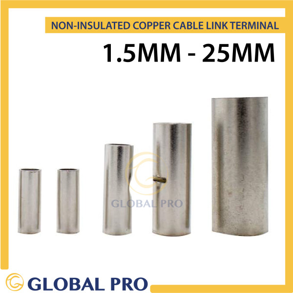 10PC SC Cable Link Copper Cable Joint 1.5mm 2.5mm 4mm 6mm 10mm 16mm 25mm