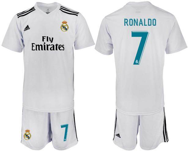 63a1582db Adidas Official La Liga Real Madrid Club de Fútbol  7 Home 2018-19 Season