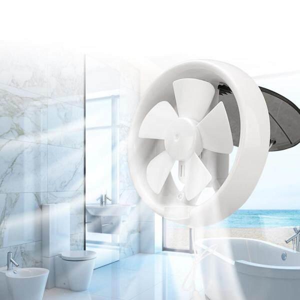 Tongpudi®Quạt Thông Gió 6 Inch 220V Tiếng Ồn Thấp Cổng Di Động Cửa Sổ Kính Tròn Mát Phòng Tắm Quạt Hút